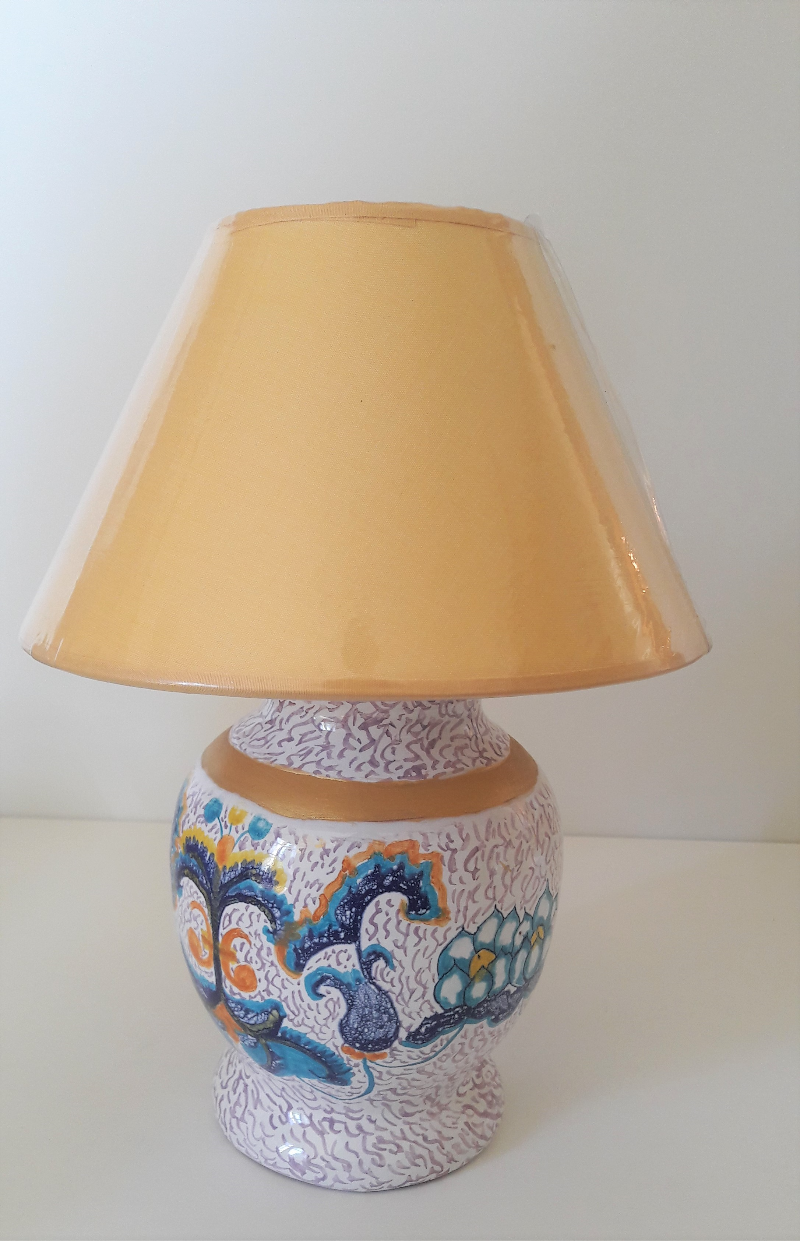 "The-Base-Lamp-is-Decorated-in-the-style-""Ricco-Deruta""-"